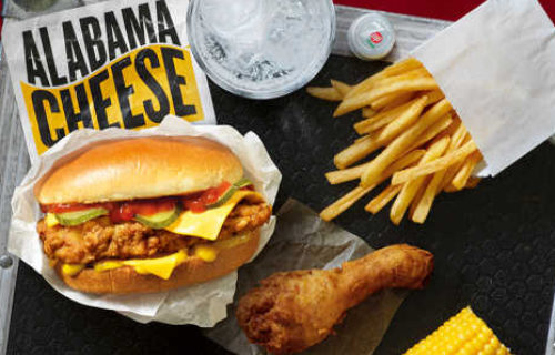 KFC Alabama Cheese Box Meal