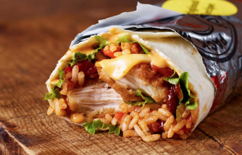 KFC Original Recipe Burrito