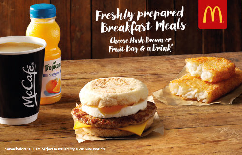 What time do mcdonalds start serving breakfast uk